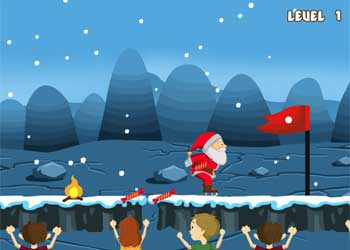 Jeu : Le Patinage du Père Noël