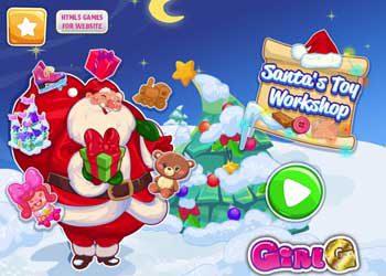 Jeu : L'atelier du Père Noël