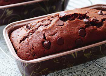 Recette : Cake au chocolat noir
