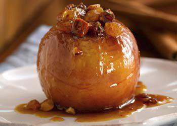 Recette : Pommes au four à la cannelle