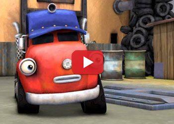 Dessin animé : Jack et les camions