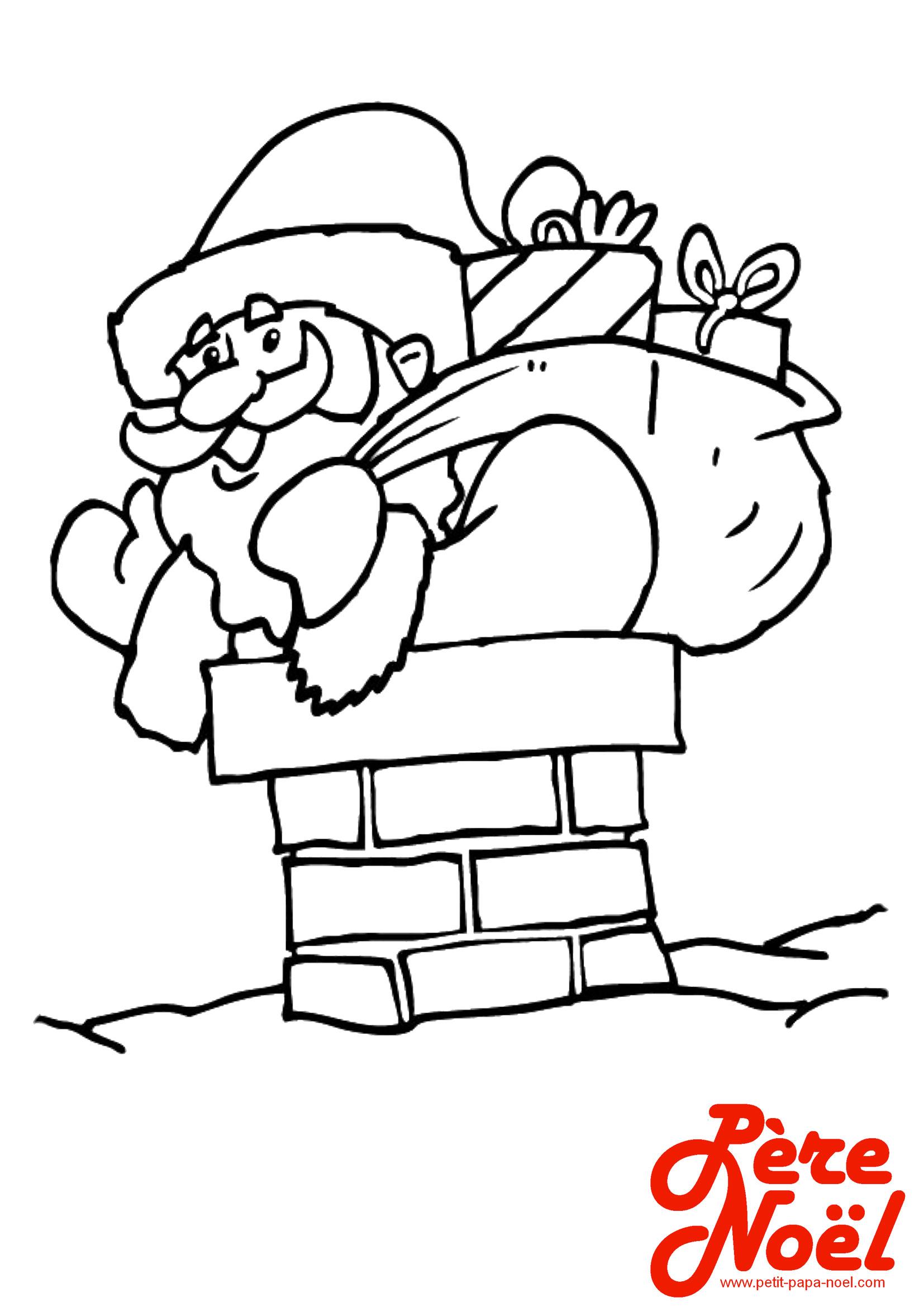 Petit Papa Noel Coloriage Pere Noel Pere Noel