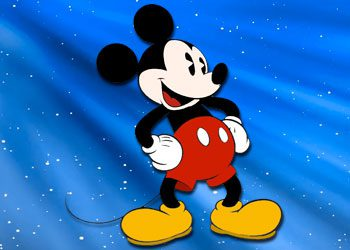 Coloriage : Mickey Mouse