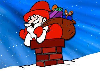 Coloriage : Père Noël