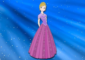 Coloriage : Princesse